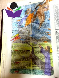 More pictures of Vicky's Bible