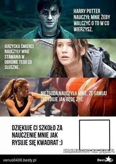 Read from the story Harry Potter Memy by -love-bomb- (♥) with reads. Wtf Funny, Funny Memes, Jokes, Polish Memes, Weekend Humor, Text Memes, Harry Potter Memes, Harry Potter Anime, Magick