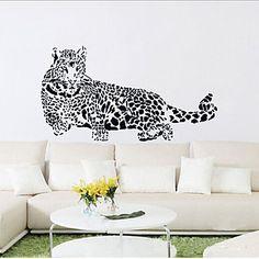 EUR € 9.69 - leopardo etiqueta de la pared del pvc, ¡Envío Gratis para Todos los Gadgets!