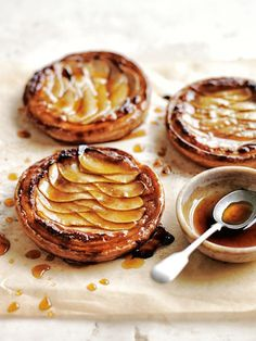 Almond and pear tarts | Easy dessert recipe ideas | Holiday desserts