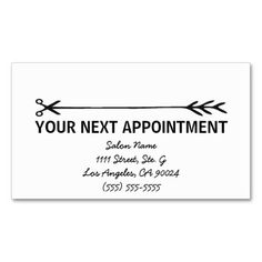 75 Best Business Cards Appointment Images Appointments Business
