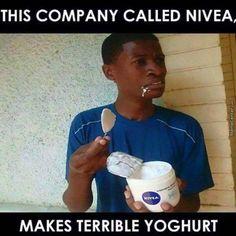 Nivea yoghurt