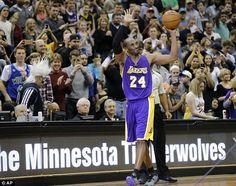 Kobe Bryant passes Michael Jordan into third place on NBA's all-time scoring list http://whosthatladyinc.blogspot.com/2014/12/kobe-bryant-passes-michael-jordan-into.html