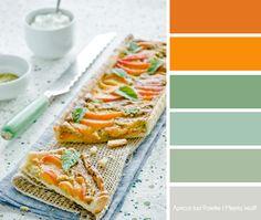 Apricot Tart Color Palette   Meeta Wolff