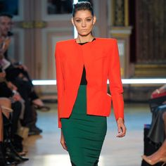 Roland Mouret Spring 2013 | look at that fab color combo