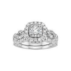 Fred Meyer Jewelers | 1 1/2 ct. tw. Say I Do Diamond Wedding Set