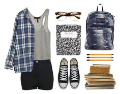 My kinda school outfit ;) by emc1397 on Polyvore featuring polyvore, fashion, style, Isabel Marant, Miss Selfridge, Kate Spade, Converse, JanSport and American Apparel