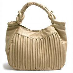 Accordion Pleated Handbag