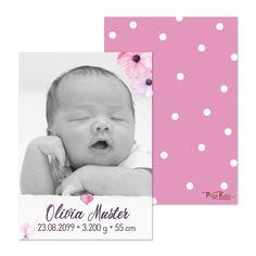 Geburtsanzeigen Geburtskarten Babykarten