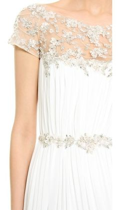 Marchesa Hand Pleated Chiffon Gown<a href='http://ABascom15.join.click2sell.eu'>Sign Up</a>