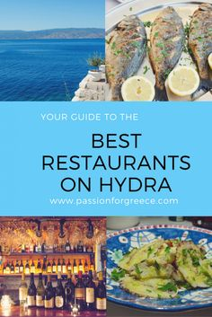 Best Restaurants on Hydra - Passion for Greece