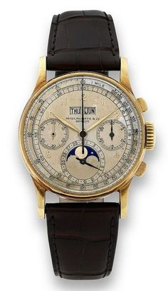 Vintage Patek Philippe chronograph
