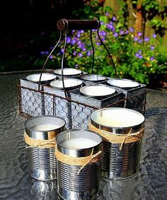 Tin Can Citronella Candles                                                                                                                                                                                 More