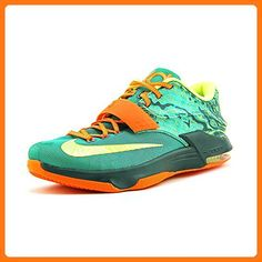 20f1827b801d Nike Men s KD VII Emrld Grn Mtllc Slvr Dk Emrld Basketball Shoe 10.5 Men