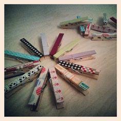 Washi tape DIY ideas