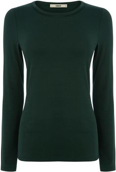 Womens pine green t-shirt from Oasis - £15 at ClothingByColour.com