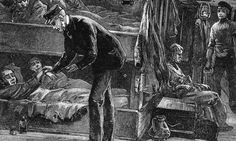 Teeth of Irish famine victims reveal genetic markers for starvation. Taking the pulse of a sick Irish emigrant on board ship. A million people died during the potato famine of the and a million more emigrated. The Irish Potato Famine, Irish Famine, Irish Potatoes, Joseph Goebbels, Armoured Personnel Carrier, History Projects, Wood Engraving, North America, Ireland