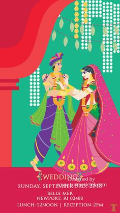 Presenting the new age wedding invites. Why just opt for a regular image or jpeg when inviting your guests over digital media. Sending out fun video invites creates much excitement amongst the guests. Whatsapp wedding cards looks best when animated. Marriage Invitation Card, Indian Wedding Invitation Cards, Wedding Invitation Video, Wedding Invitation Card Design, Hindu Wedding Cards, Card Wedding, Wedding Card Design Indian, Wedding Caricature, Wedding Videos
