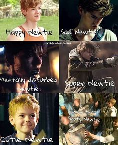 "Mentally disturbed newt *cries*<<<Same I started crying then I seen ""touch that booty newtie"" and I felt MUCH better"