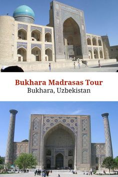Madrasas – or Muslim education and religious centers – are very common in the Islamic world. In Bukhara, many of the madrasas were built centuries ago, and stand as beautiful monuments today.