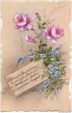 Raindrops and Roses Raindrops And Roses, Book And Frame, Clip Art, Wishes Images, Rose Art, Decoupage Paper, Hobbies And Crafts, Vintage Flowers, Diy Painting