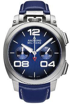 Anonimo Watches - militare-classic - stainless-steel-blue