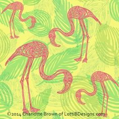 Charlotte Brown | Make It In Design | Surface Pattern Design | Summer School | Tropical Paradise