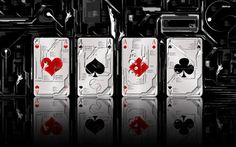 very awesome  Aces Wallpaper