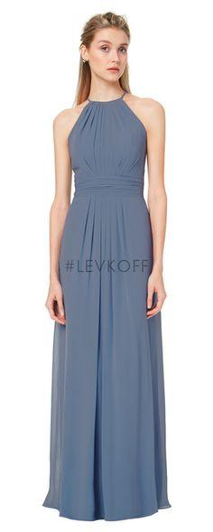 8774c2d8fee  LEVKOFF - Bill Levkoff Bridesmaid Dress Style 7042 - Chiffon