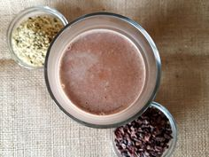 Hemp Seed Cacao Chocolate Milk nut and dairy free
