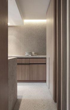 Home Interior Kitchen .Home Interior Kitchen Interior Desing, Home Interior, Interior Design Kitchen, Interior Architecture, Interior Ideas, Minimal Kitchen, Modern Kitchen Design, Küchen Design, Home Design