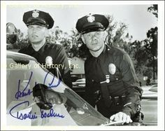 Adam-12 TV | ADAM 12 TV CAST - PHOTOGRAPH SIGNED CO-SIGNED BY: KENT McCORD, MARTIN ...
