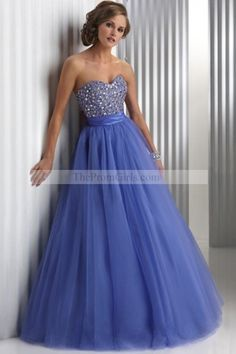 Sweetheart Prom Dress,Tulle Evening Dress,Party Dress With Beading Prom Dress 2014, Beaded Prom Dress, Dresses 2013, A Line Prom Dresses, Cheap Prom Dresses, Homecoming Dresses, Sexy Dresses, Dress Outfits, Dress Up