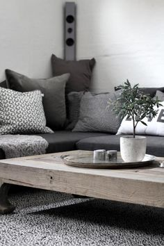 Grey/rustic coffee tables