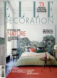 Envie de nature. Gefunden in: ELLE DECORATION / FRZ, Nr. 235/2015