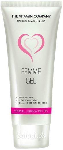 THE VITAMIN COMPANY FEMME GEL Saloni™ Health