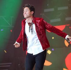 Cry Baby, Red Leather, Leather Jacket, Son Luna, Celebrities, Jackets, Fan, Fashion, Boyfriends