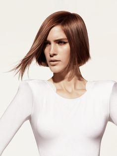 Braun bob frisuren für feines dünnes haar