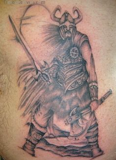 Viking celtic warrior tattoos there are strong norse for Tattoo shops anderson indiana