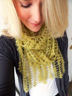 Waverly Scarf - crochet