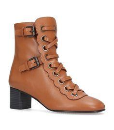 CHLOÉ Orson Ankle Boots. #chloé #shoes #