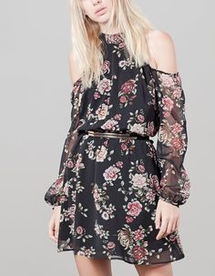 At Stradivarius you ll find 1 Print dress for woman for just IDR . d4dd016fbaa7