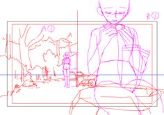 animated genga the_idolm@ster the_idolm@ster_kagayaki_no_mukougawa_e! yuki_komatsu