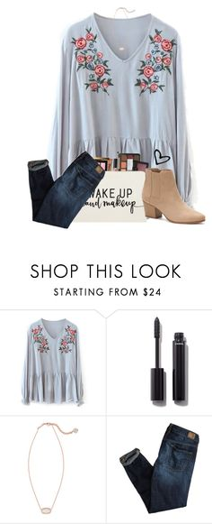 """""""March always seems so long"""" by ellisonharris ❤ liked on Polyvore featuring Chanel, Kendra Scott, American Eagle Outfitters and Apt. 9"""