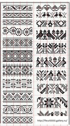 Elegant fair isle knitting patterns no floss numbers, but will be fun to mix and match colors. HUNSCMH - Crochet and Knit , Elegant fair isle knitting patterns no floss numbers, but will be . Fair Isle Knitting Patterns, Fair Isle Pattern, Knitting Charts, Loom Patterns, Knitting Stitches, Crochet Patterns, Knitting Ideas, Free Knitting, Knitting Machine