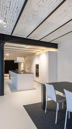 Modern Interior Design, Interior Design Inspiration, Interior Architecture, Inside Home, Construction Design, Industrial House, Minimalist Home, Interiores Design, Kitchen Interior