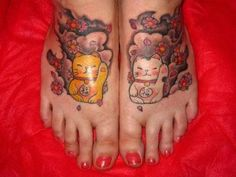 Cute Kitties – Cat Tattoo