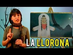 BASIC description of La Llorona in Spanish Spanish Class, Teaching Spanish, Teaching Resources, Funny Commercials, Youtube, Halloween, Mexico, Classroom, Languages