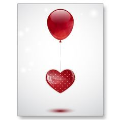 Heart and balloon post cards  $0.88