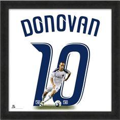 LA Galaxy Donovan Uniframe Jersey Photo - MLSGear.com